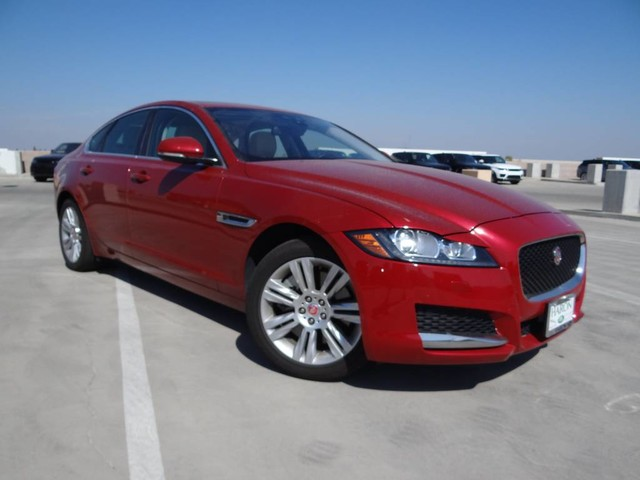 certified pre-owned 2017 jaguar xf 35t premium sedan in fresno #8169