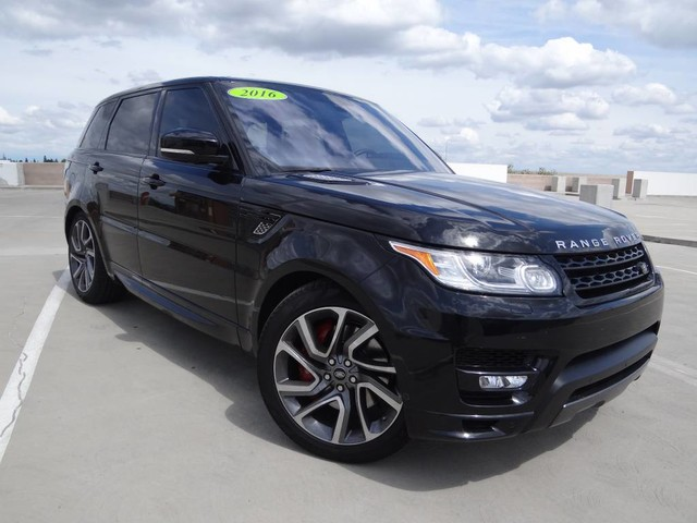 Certified Pre Owned 2016 Land Rover Range Sport Autobiography
