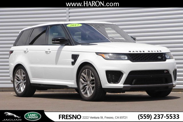 Land Rover Sport >> Certified Pre Owned 2017 Land Rover Range Rover Sport Svr Suv In