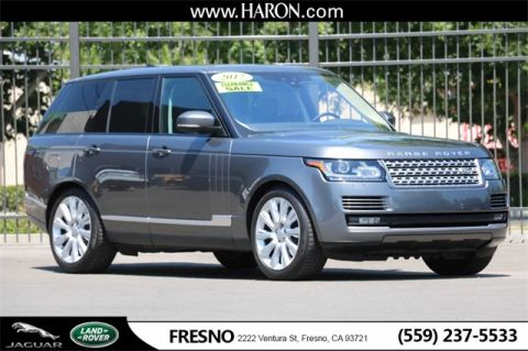 Certified Pre-Owned 2017 Land Rover Range Rover 5.0L V8 Supercharged